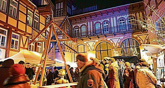 Es locken spanische Köstlichkeiten und weihnachtliches Markttreiben