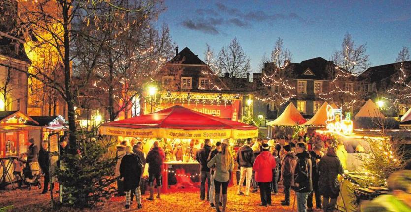 Bummeln und Stöbern auf dem Olper Weihnachtsmarkt