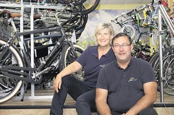 Fahrrad Raugsch: Zehn Jahre lang zwei Räder
