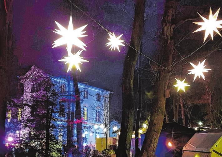 """Kreuztal lädt ein zum """"Lichterglanz im Park"""""""