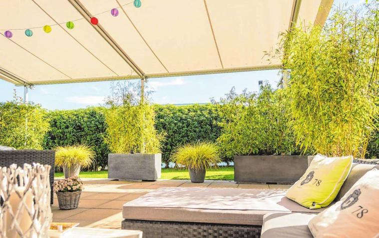 Sonnenschutz für die Terrasse
