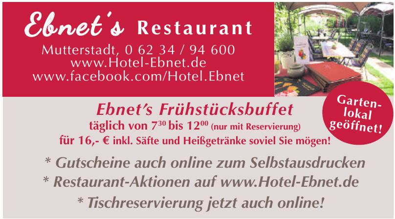 Ebnet' s Restaurant