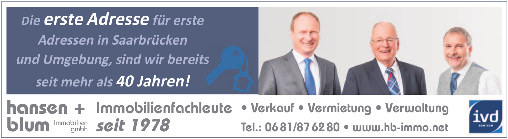 hansen + blum - immobilien GmbH