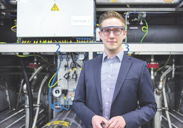 Arne Jacobsen ist Wasserstoff-Experte beim Energieversorger Vattenfall.