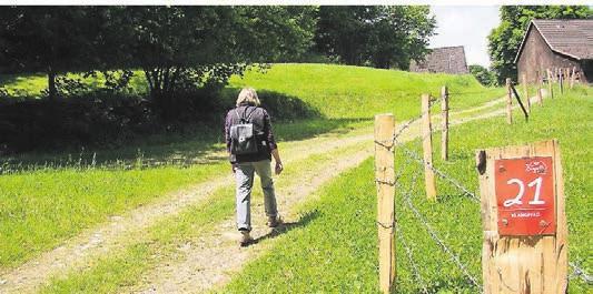 Wandern auf gut ausgeschilderten Wegen. Foto: Maren Pussak