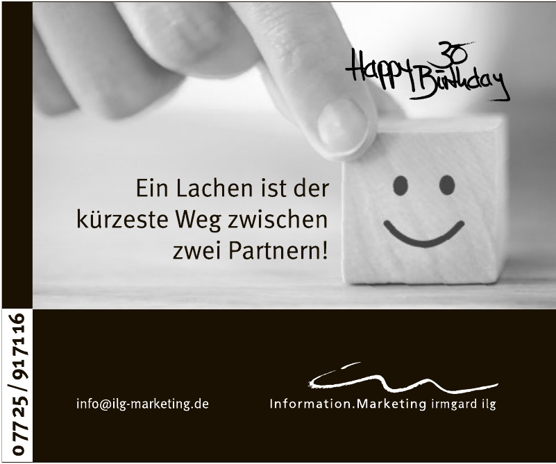 Information.Marketing irmgard ilg