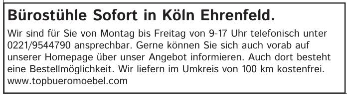 Top Büromöbel GmbH Köln