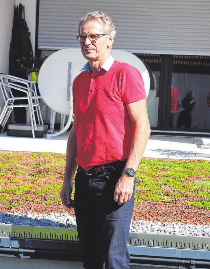 Egon Schutzbach ist Geschäftsführer vom Baubüro Jung, das für die neue Wohnanlage Zinken verantwortlich zeichnet.