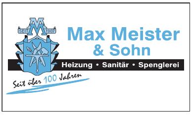 Max Meister & Sohn