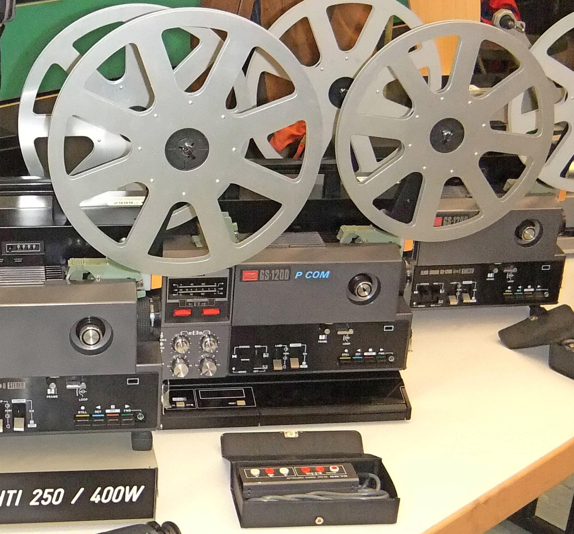 Exklusiver Service, Wartung und Verkauf von ELMO-Filmprojektoren der Referenzklasse.