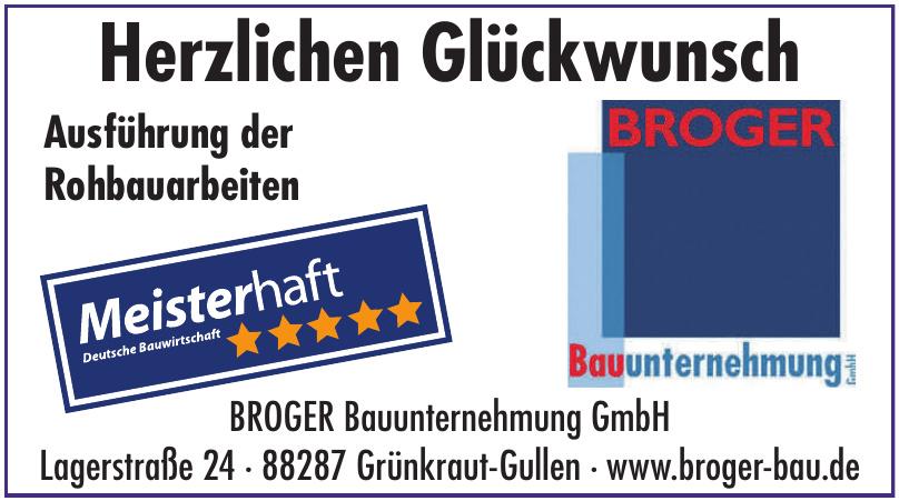BROGER Bauunternehmung GmbH