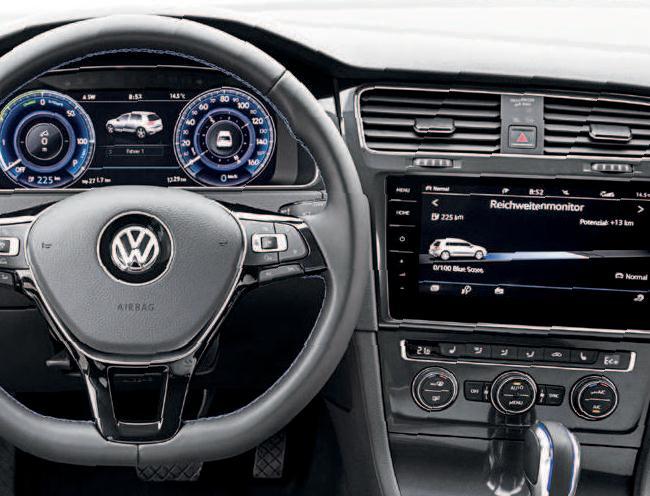 """Dank Multifunktionsanzeige """"Premium"""" und Powermeter sind die wichtigsten Fahrzeuginformationen jederzeit genauso klar wie das Design."""