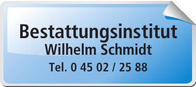 Bestattungsinstitut Wilhelm Schmidt