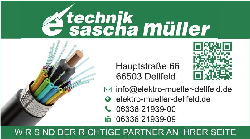 Etechnik Sascha Müller