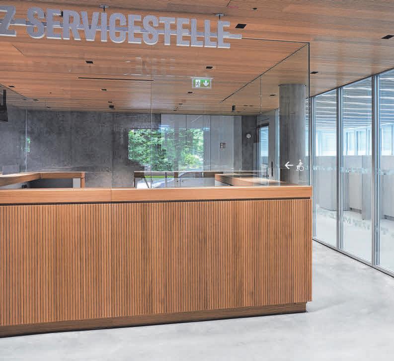 Die Servicepoints als erste Anlaufstelle für die Bürger sind in allen Ämtern einheitlich gestaltet. FOTOS: STEFAN MÜLLER-NAUMANN