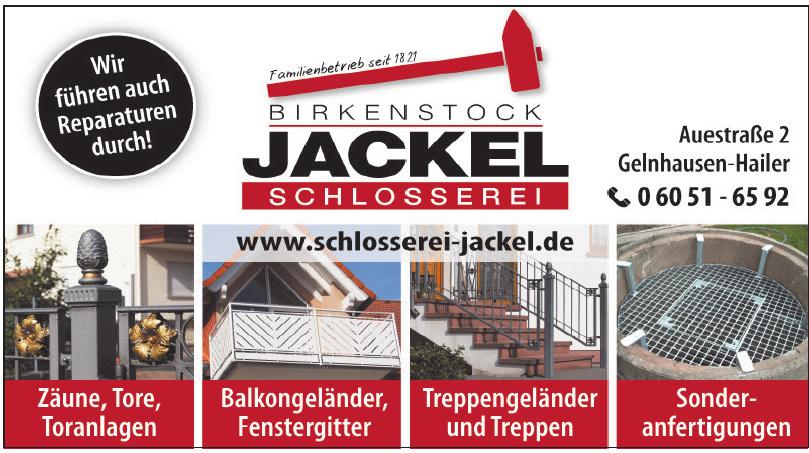 Birkenstock Jackel Schlosserei