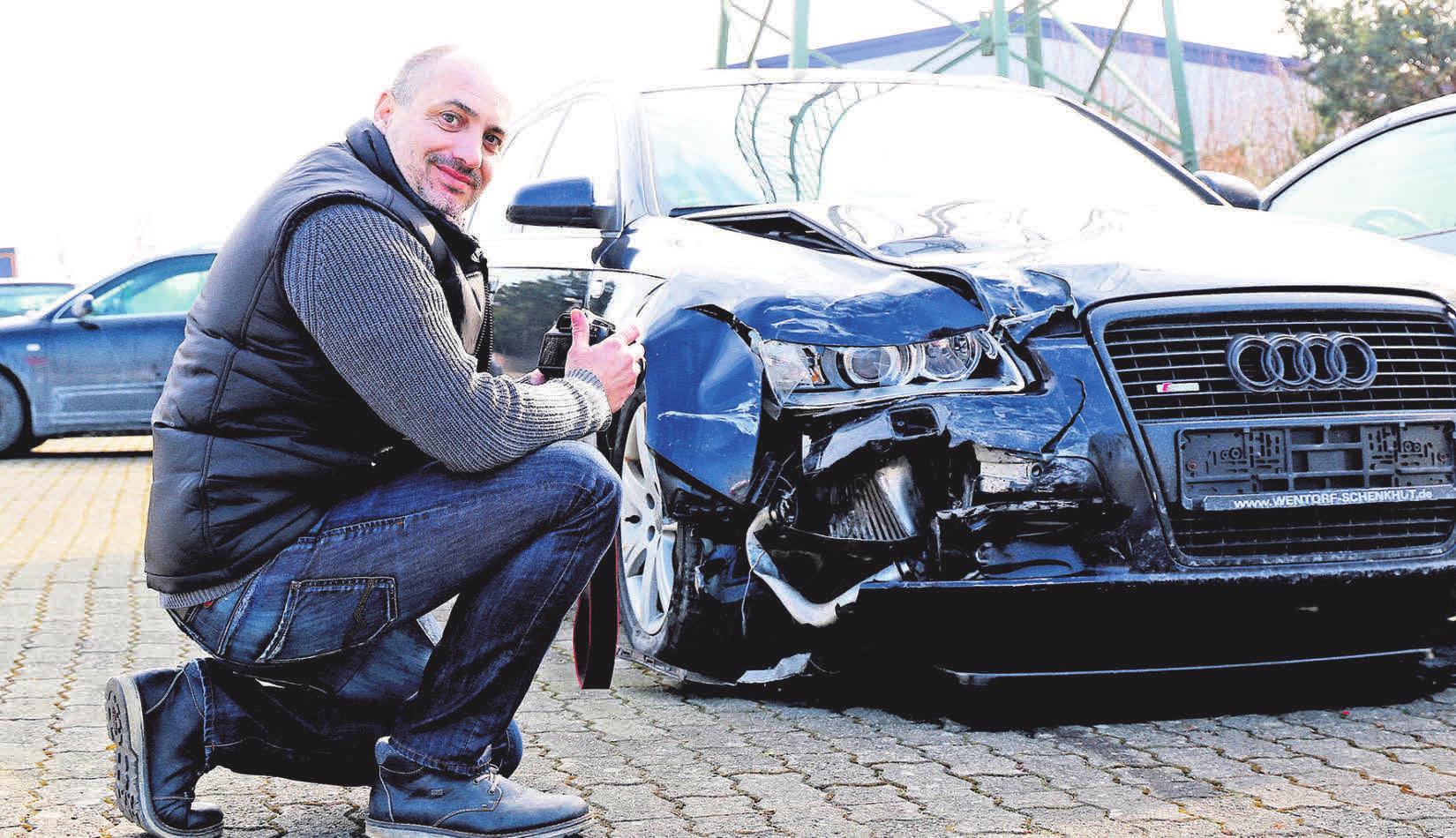 Stefan Künemund ist Sachverständiger im Sachverständigenbüro für Fahrzeugtechnik mit Standorten in Gieboldehausen und Renshausen.