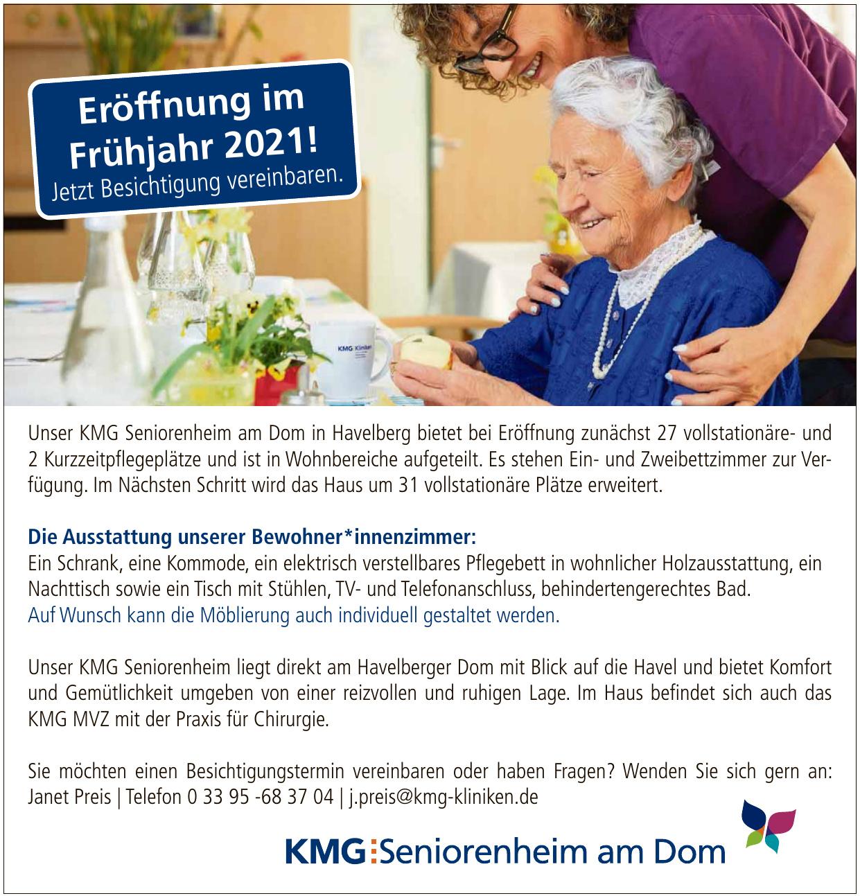 KMS Seniorenheim am Dom