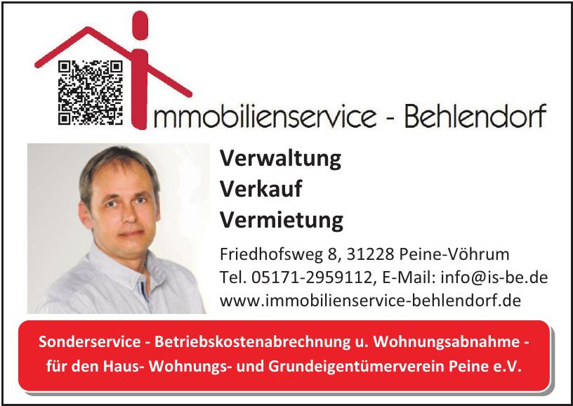 Immobilienservice-Behlendorf