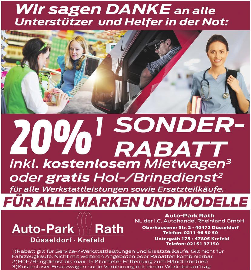 Auto-Park Rath  NL der I.C. Autohandel Rheinland GmbH