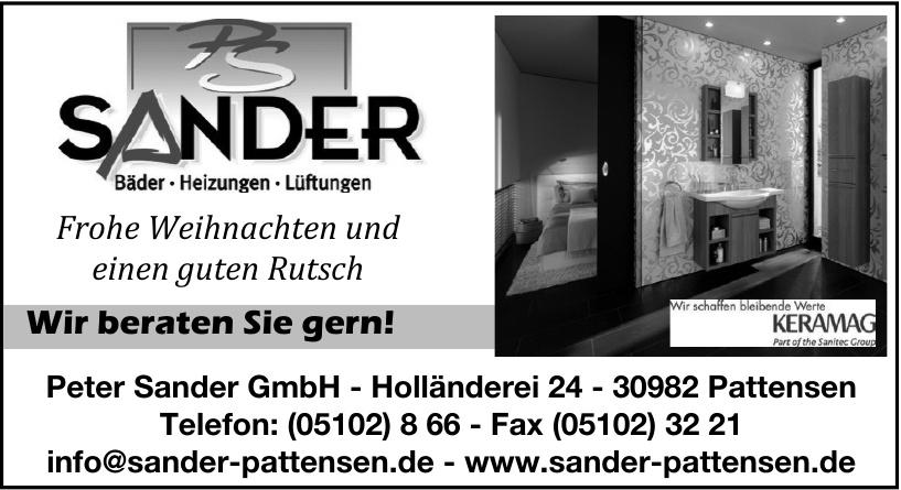 Peter Sander GmbH
