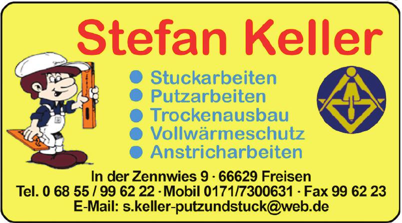 Stefan Keller Putz und Stuck