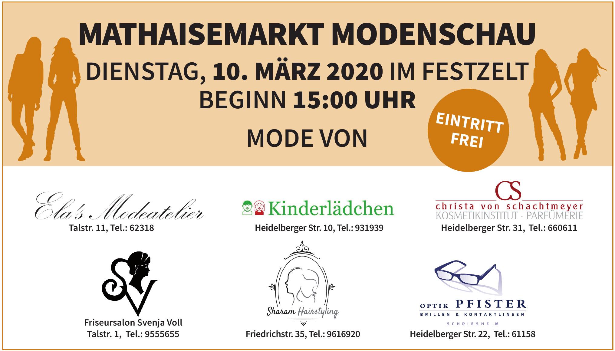 Mathaisemarkt Modenschau