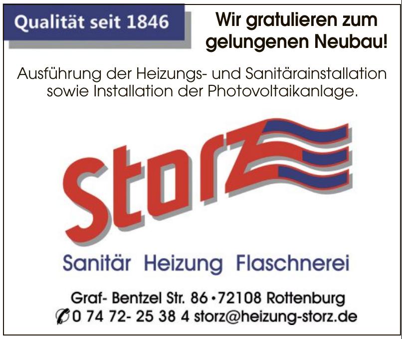 Storz Sanitär, Heizung, Flaschnerei