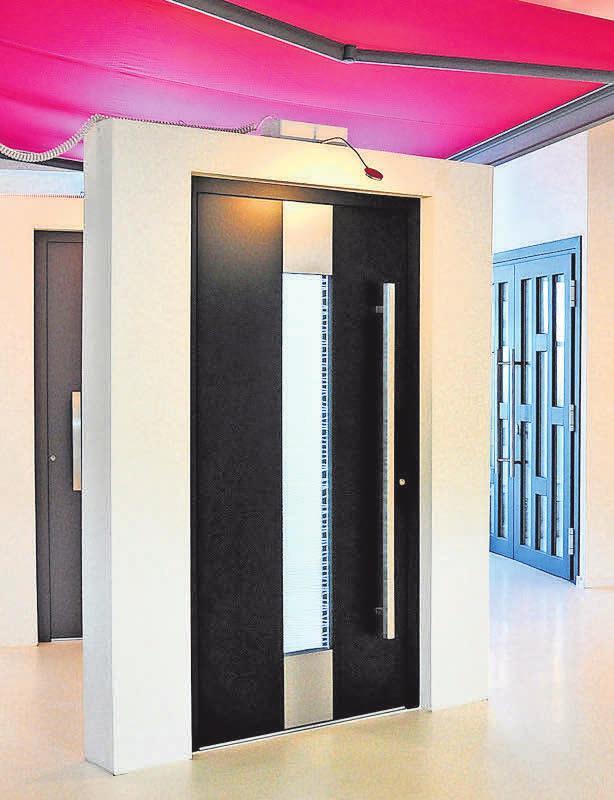 Die Firma Robering präsentiert Lösungen für Fenster, Türen und Co.