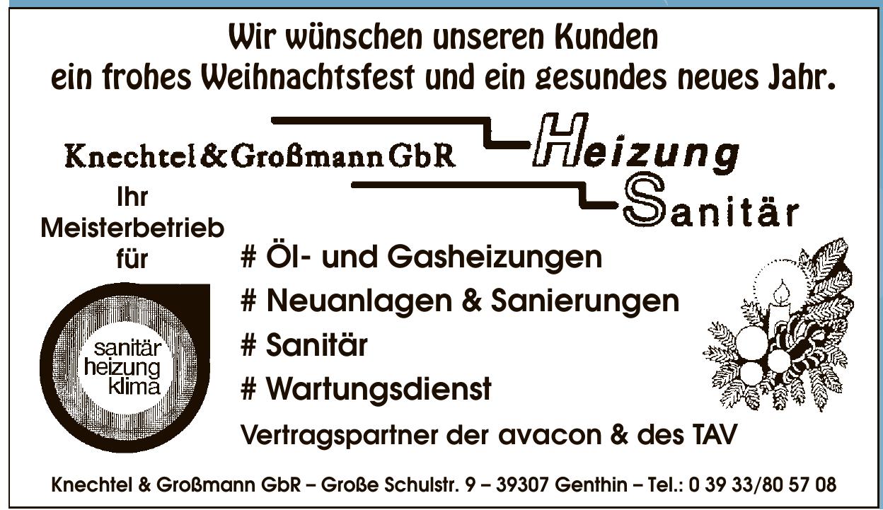 Knechtel & Großmann GbR