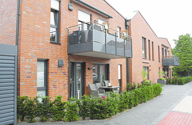 Die neuen Wohnungen für Alleinstehende und Paare haben Größen zwischen 50 und 80 Quadratmetern.