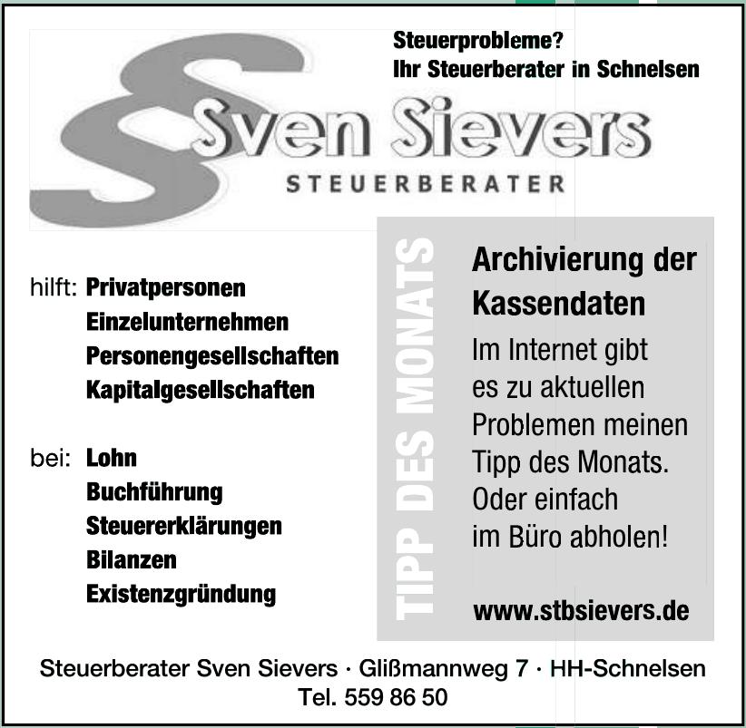 Sven Sievers Steuerberater