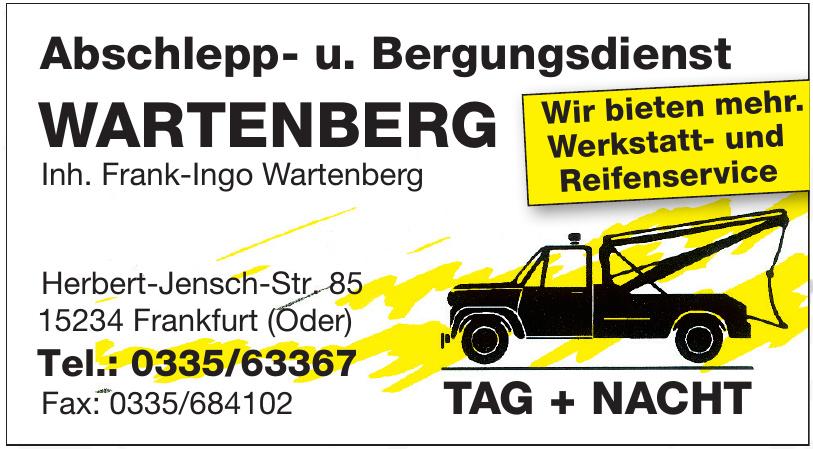 Abschlepp- u. Bergungsdienst Wartenberg