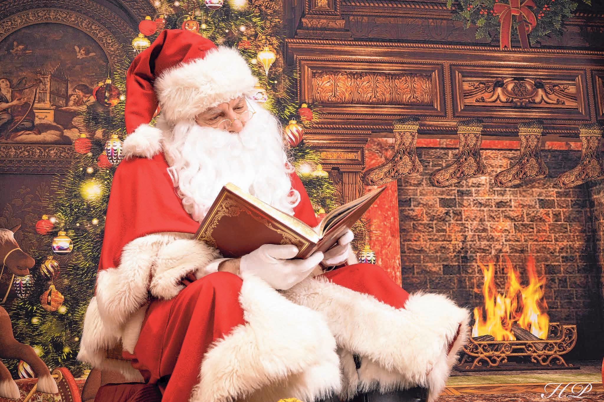 Derzeit schwer im Stress: der Weihnachtsmann. FOTO: ARCHIV