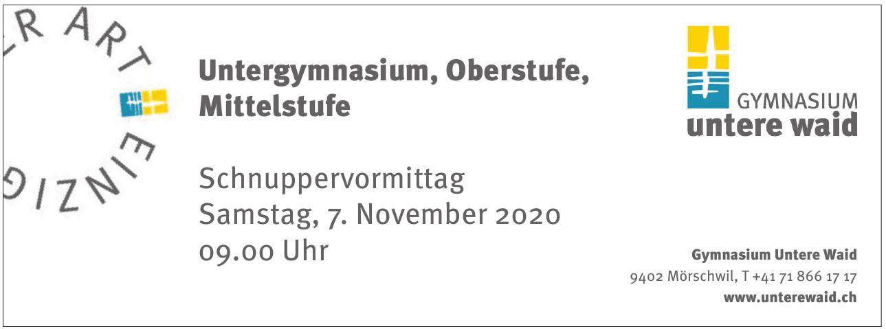 Gymnasium Untere Waid