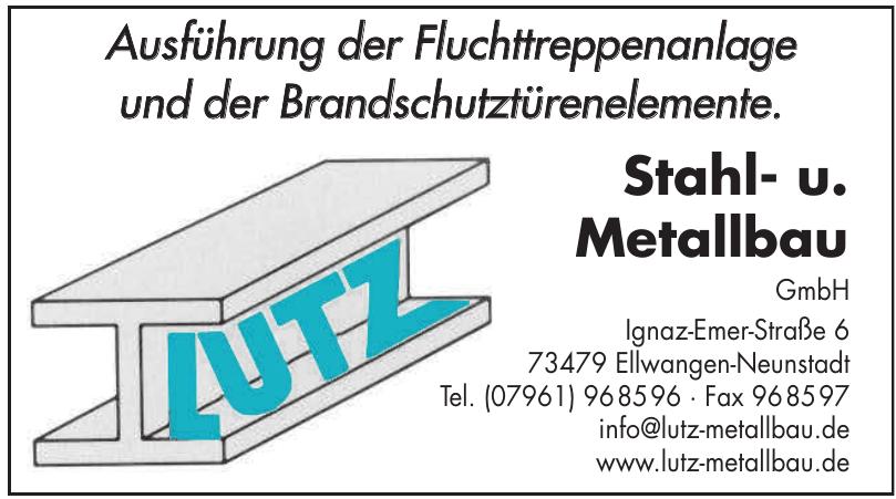 Stahl- u. Metallbau GmbH