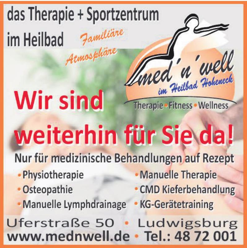 med´n´well Therapie + Sportzentrum im Heilbad Hoheneck