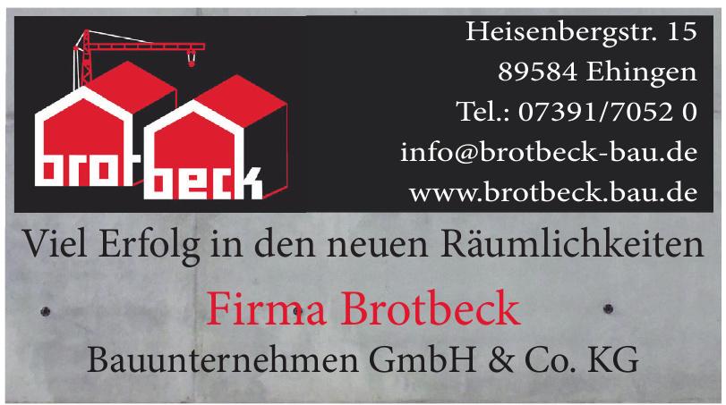 Brotbeck Bauunternehmen GmbH & Co. KG