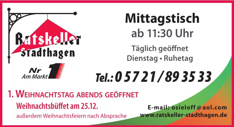Ratskeller Stadthagen