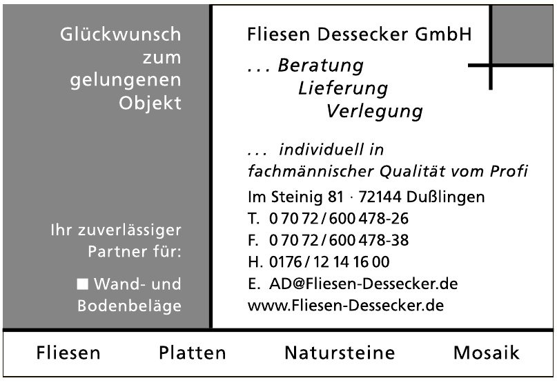 Fliesen Dessecker GmbH