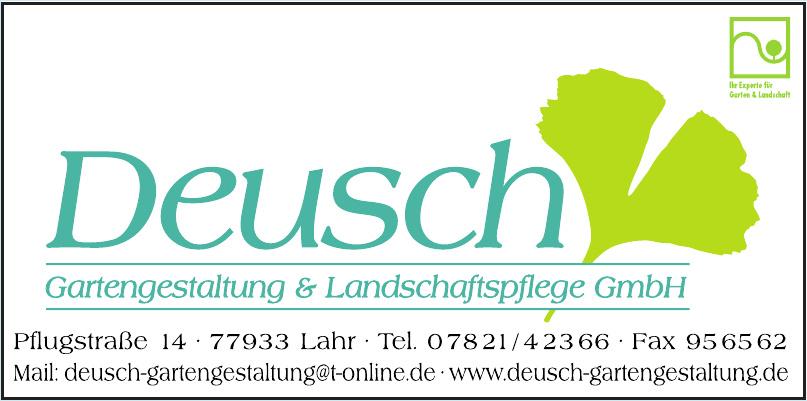 Deusch Gartengestaltung & Landschaftspflege GmbH