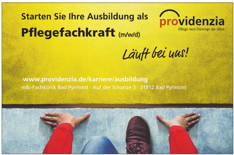 providenzia - m&i-Fachklinik Bad Pyrmont