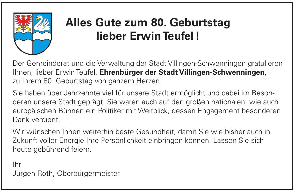 Stadt Villingen-Schwenninge
