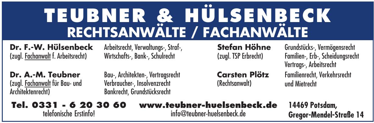 Teubner Hülsenbeck