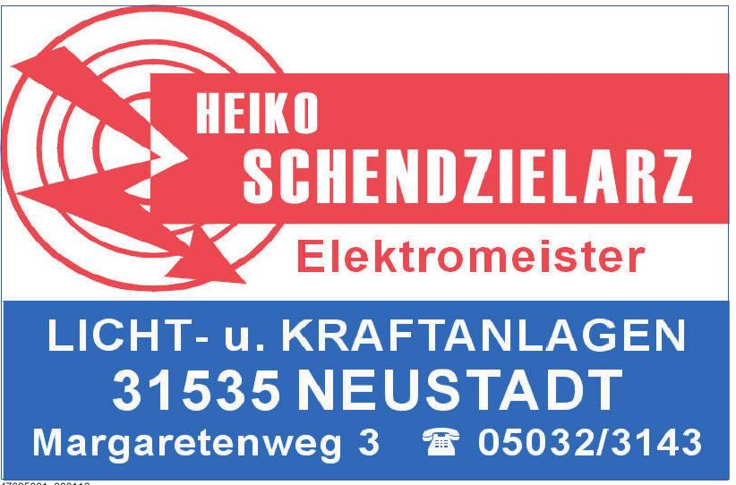 Heiko Schendzielarz Elektromeister