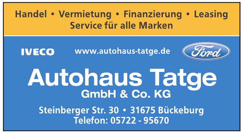 Autohaus Tatge GmbH & Co. KG