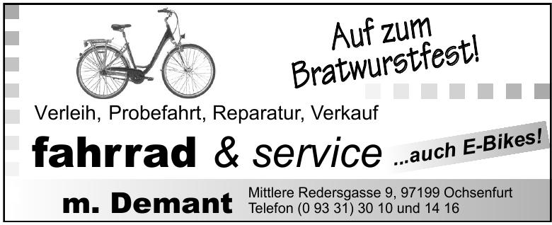 fahrrad & service m. Demant