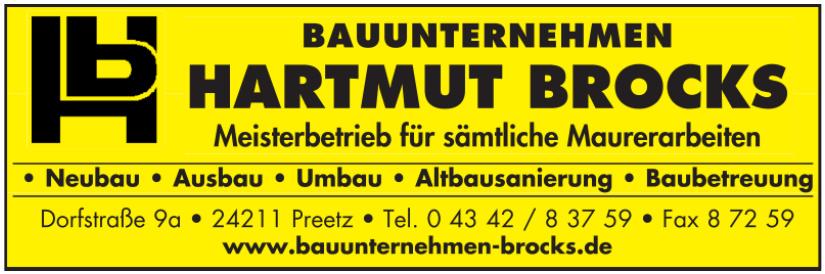 Bauunternehmen Hartmut Brocks