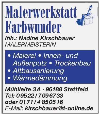 Malerwerkstatt Farbwunder GmbH