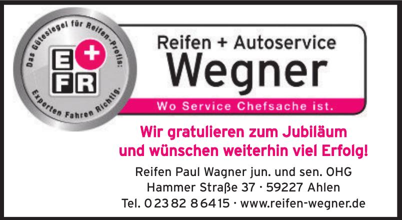 Reifen Paul Wagner jun. und sen. OHG